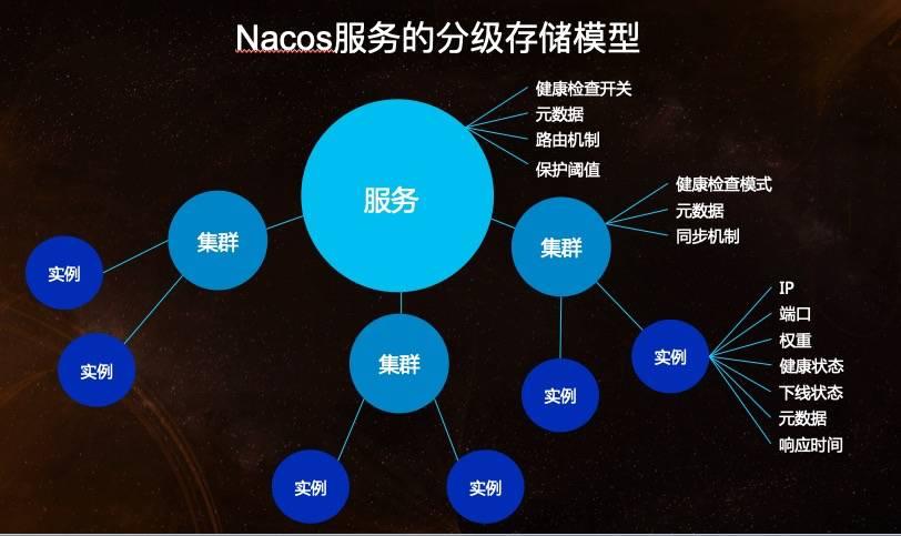 Nacos 服务领域模型