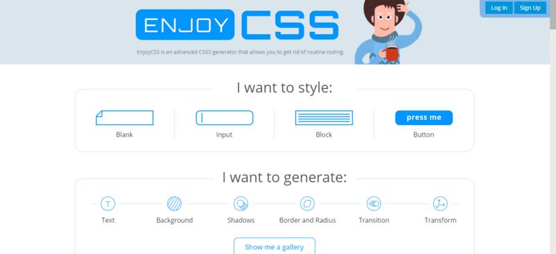 EnjoyCSS 首页