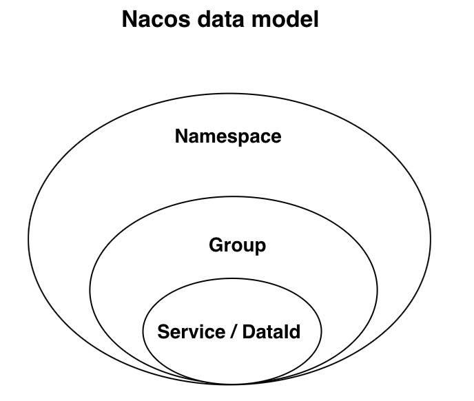 Nacos 数据模型