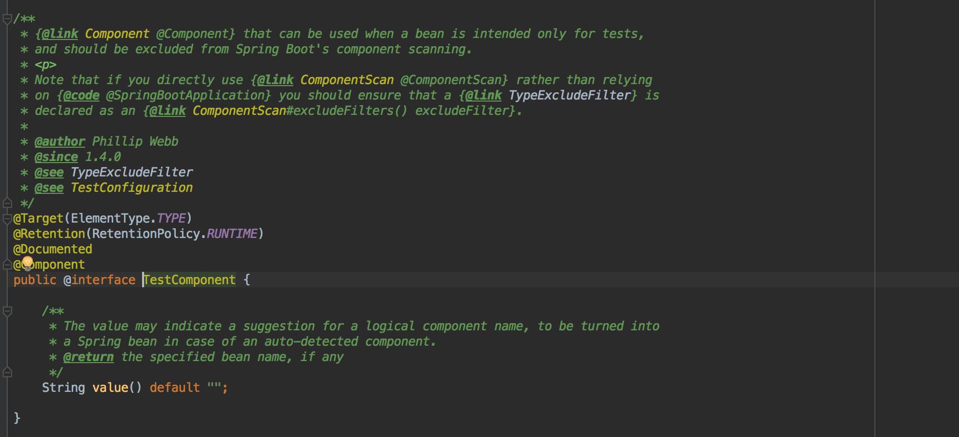 TestComponent注解