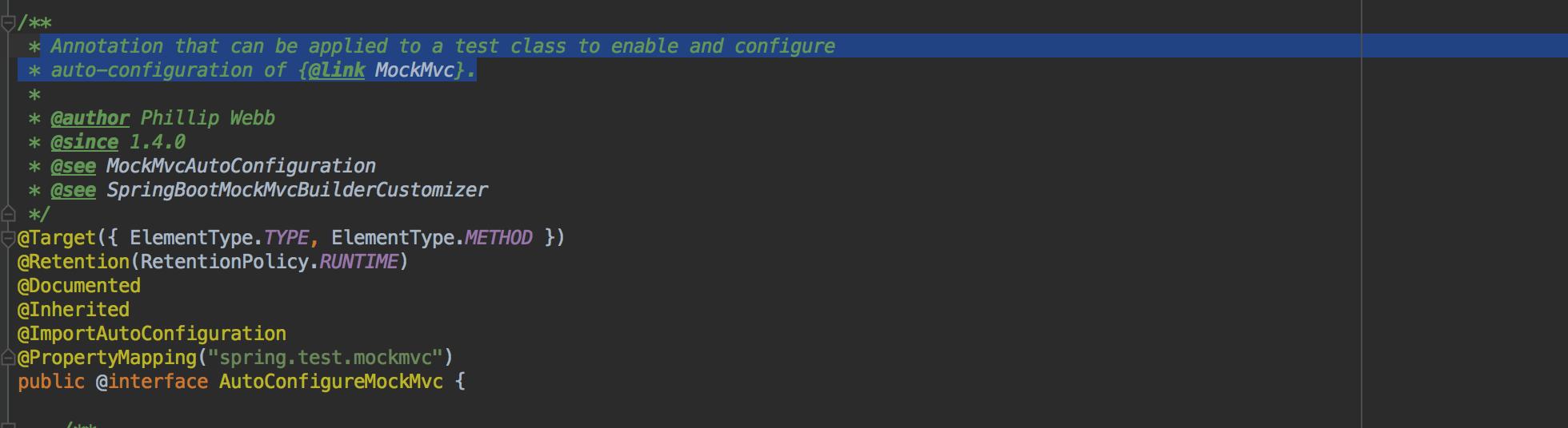 AutoConfigureMockMvc注解