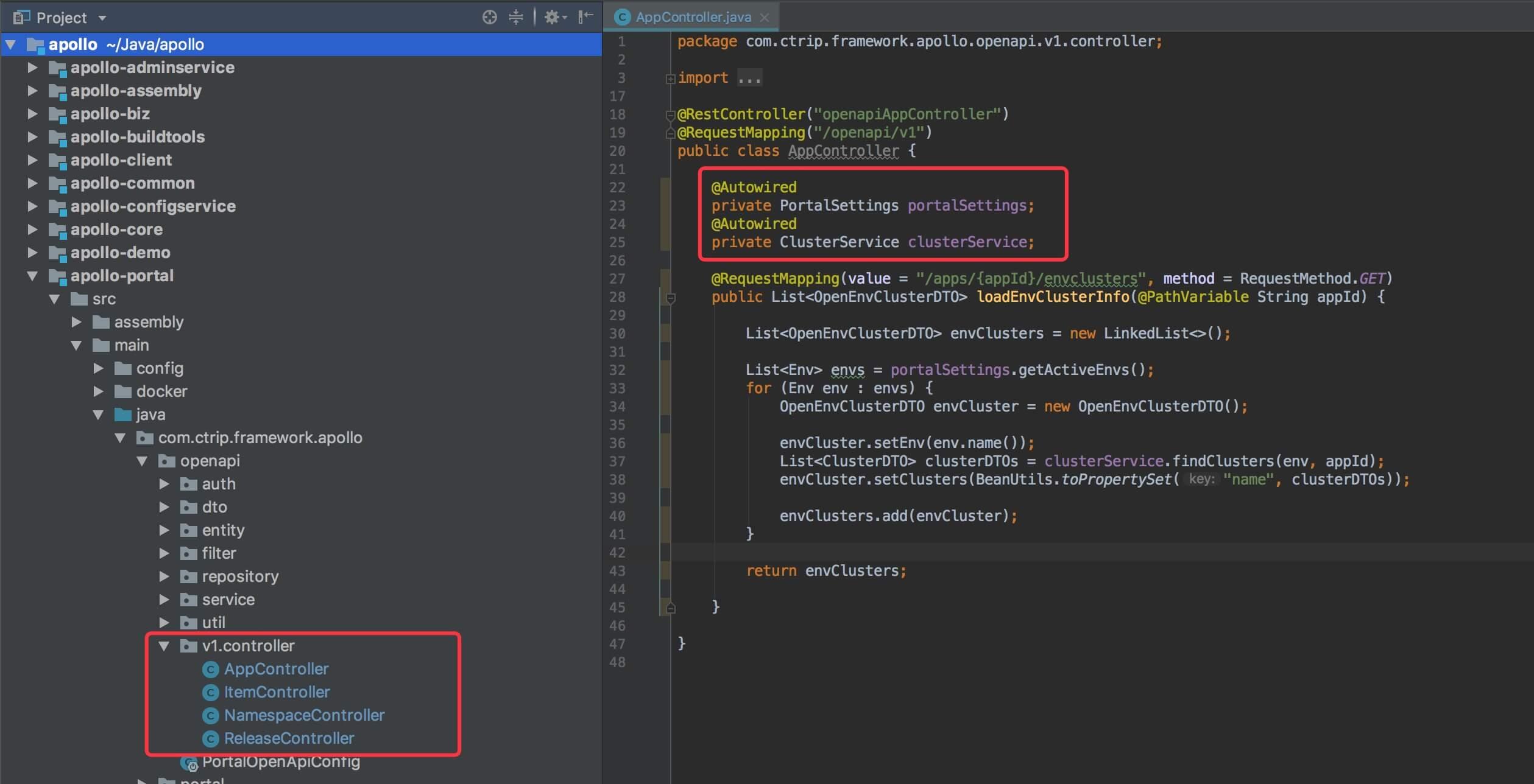 OpenAPI Controller